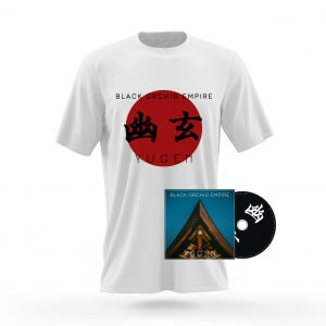 Black Orchid Empire T-shirt CD Yugen Kanji Bundle