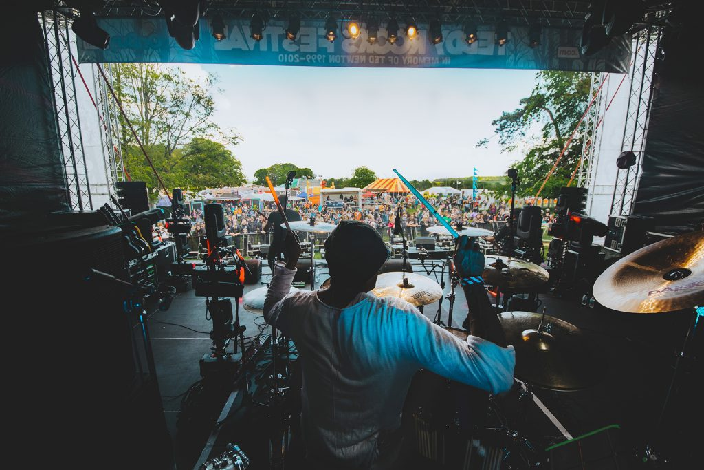 Black Orchid Empire Teddy Rocks Festival Drummer