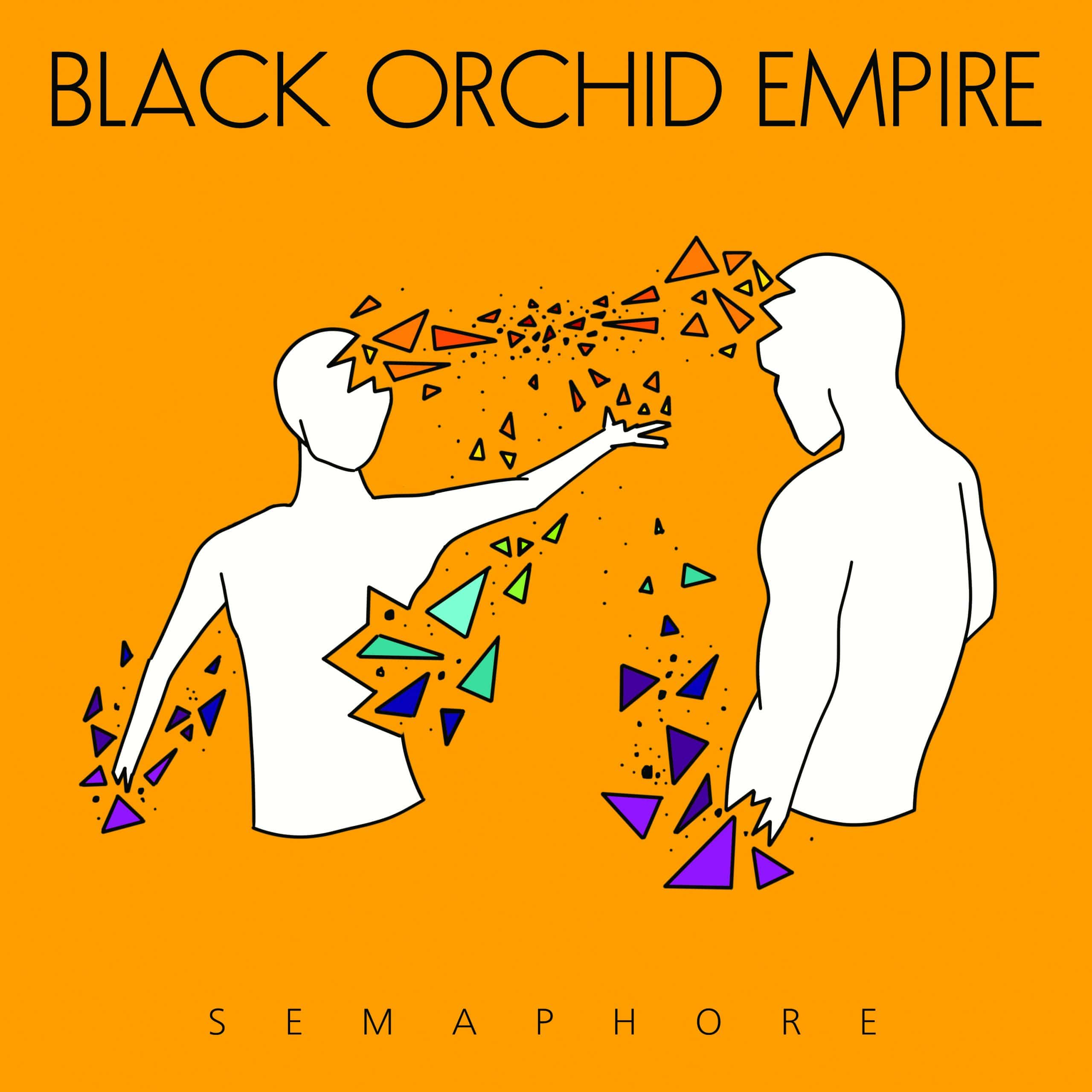 Black Orchid Empire Semaphore Artwork